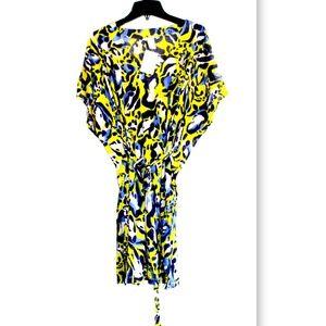 NWT H&M Belted  Animal Print Kimono Swim Cover up